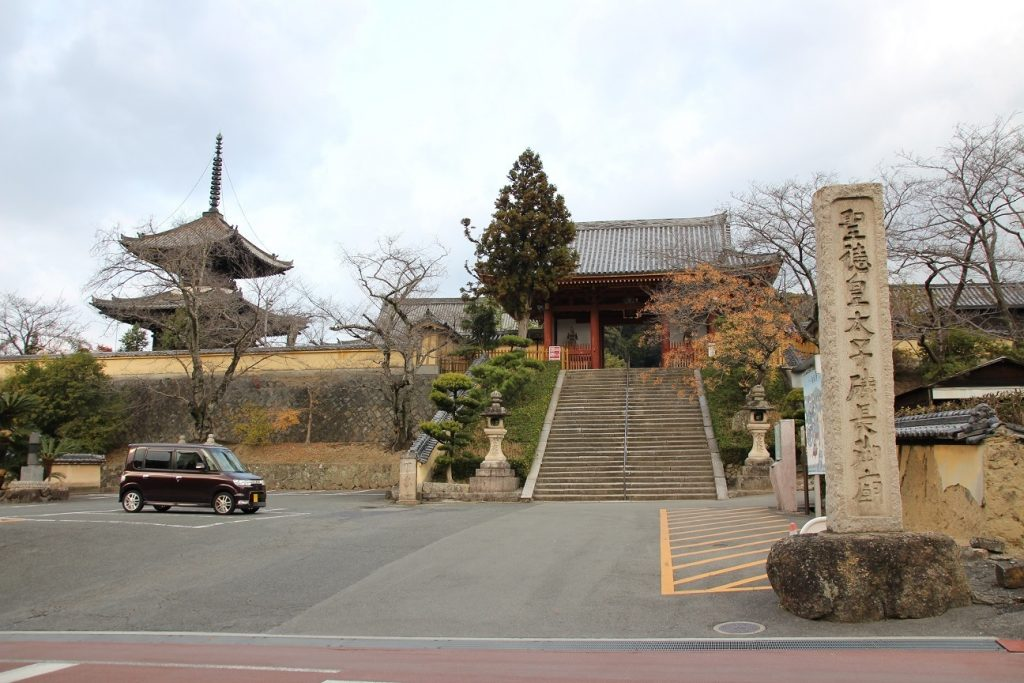 叡福寺駐車場