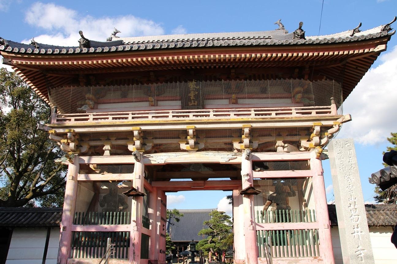 葛井寺の御朱印 美しい千手観音さまと藤まつり