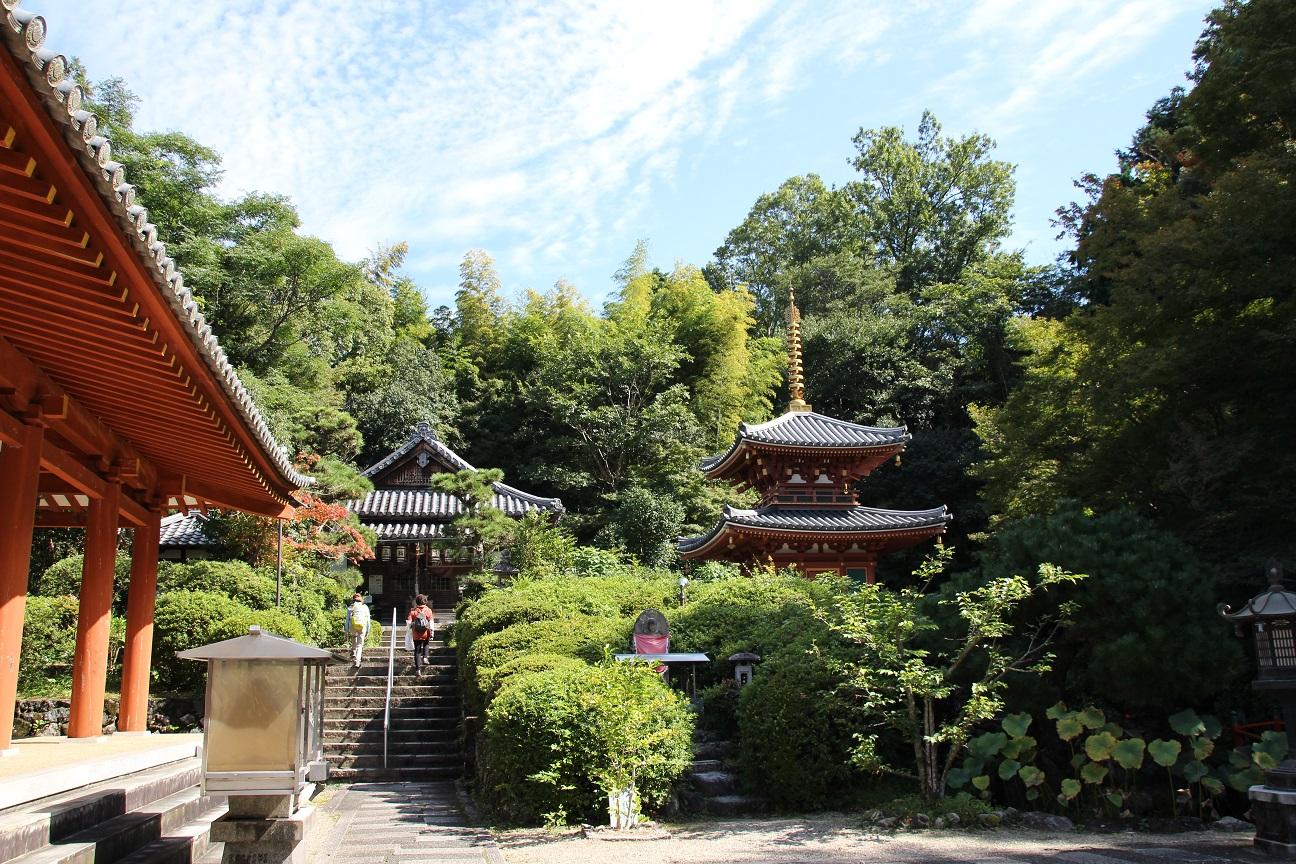 三輪山平等寺 聖徳太子開基の寺院(奈良県桜井市)