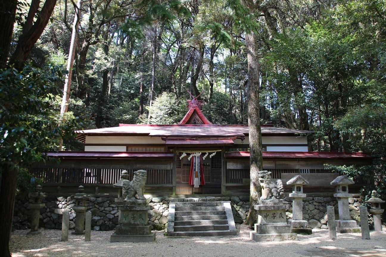 咸古神社 龍泉寺の鎮守社(大阪府富田林市)