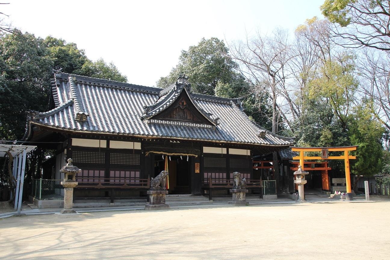 白鳥神社 日本武尊を祀る神社(大阪府羽曳野市)