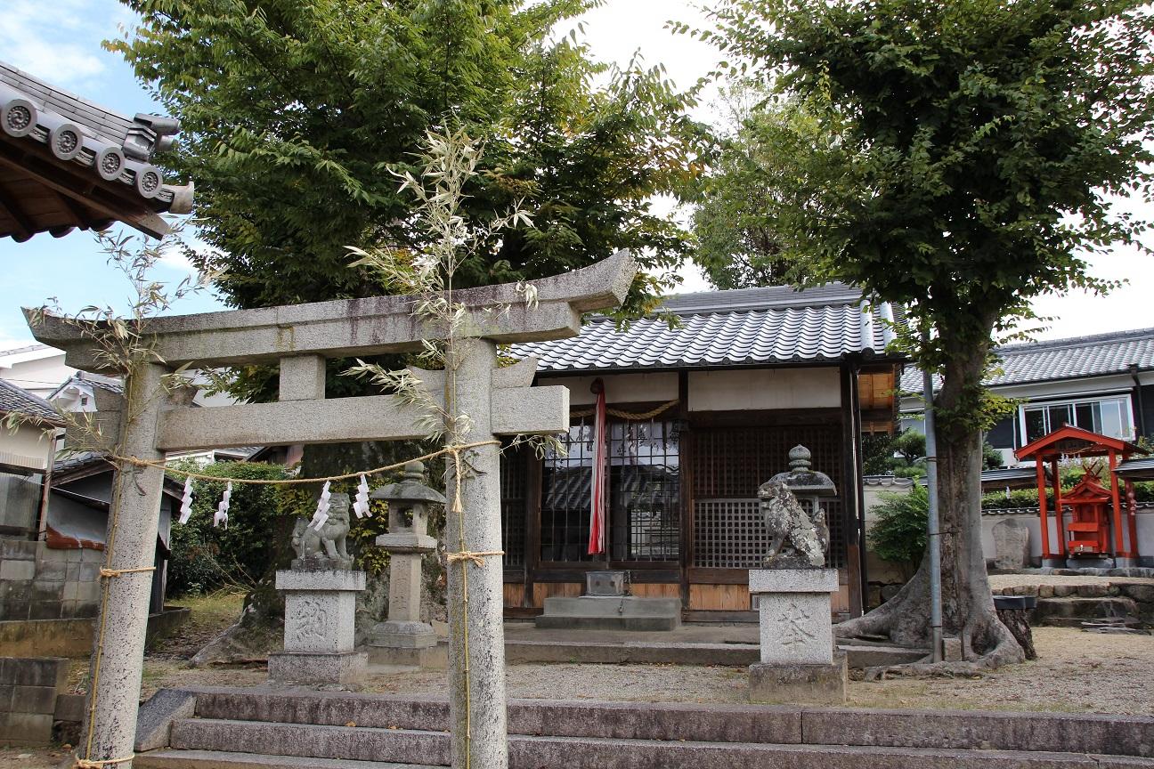 素盞鳴神社 「祇園さん」と呼ばれている神社 (奈良県桜井市)