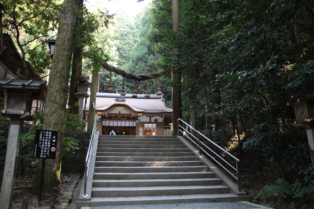 狭井神社(奈良) 薬井戸がある病気平癒の神様【御朱印】