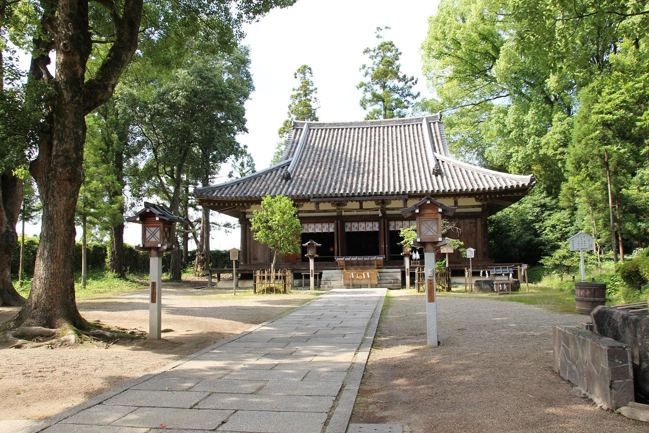 大直禰子神社 大神神社の神宮寺(奈良県桜井市)