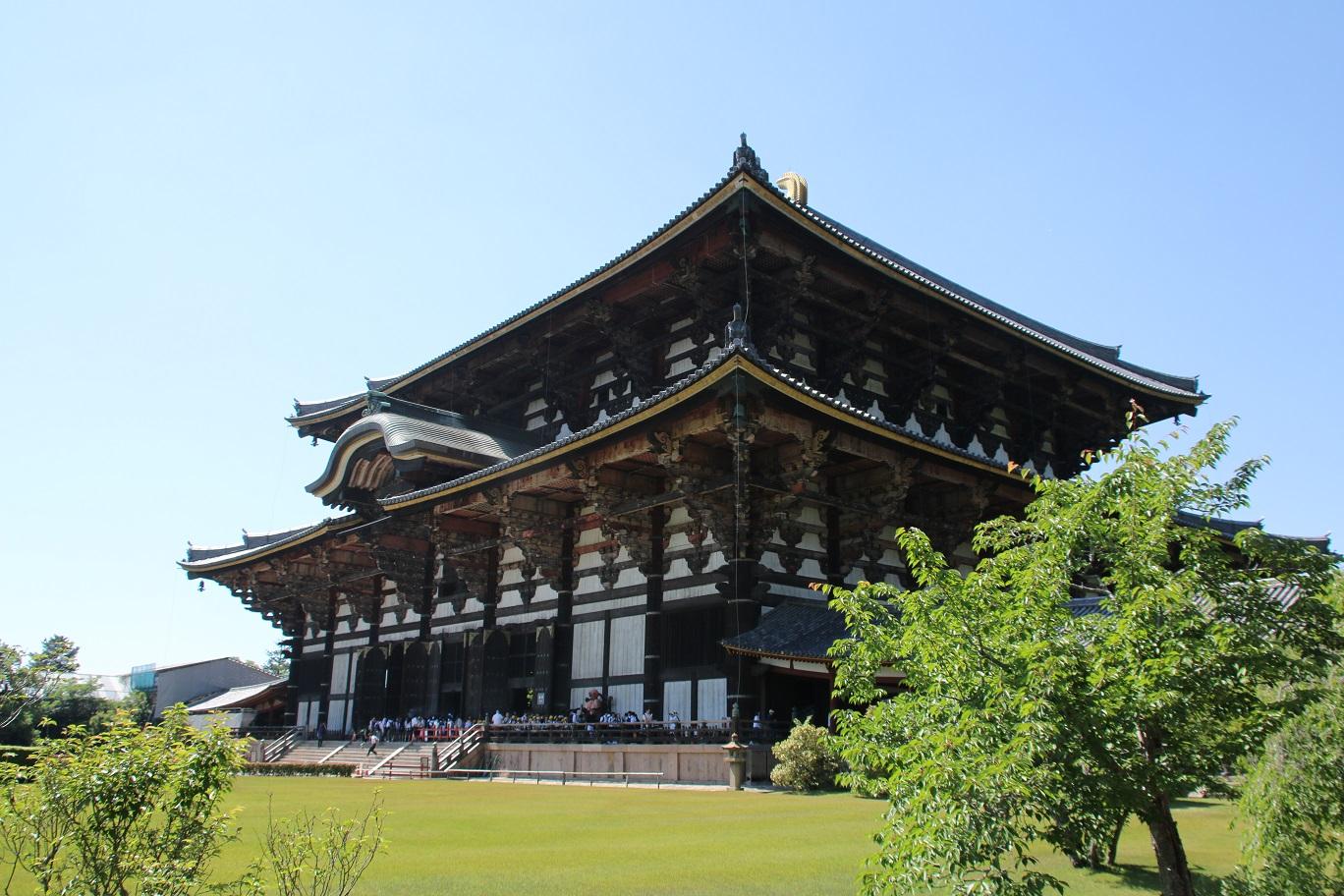 東大寺・金堂(大仏殿) 奈良の大仏さん【御朱印帳と御朱印】