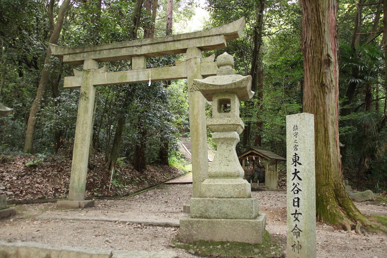 東大谷日女命神社 神々が鎮まる畝傍山(奈良県橿原市)