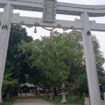 若江鏡神社 雷の手形石と日読みの聖地【御朱印】