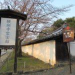 醍醐寺③ 枝垂れ桜が美しい霊宝館