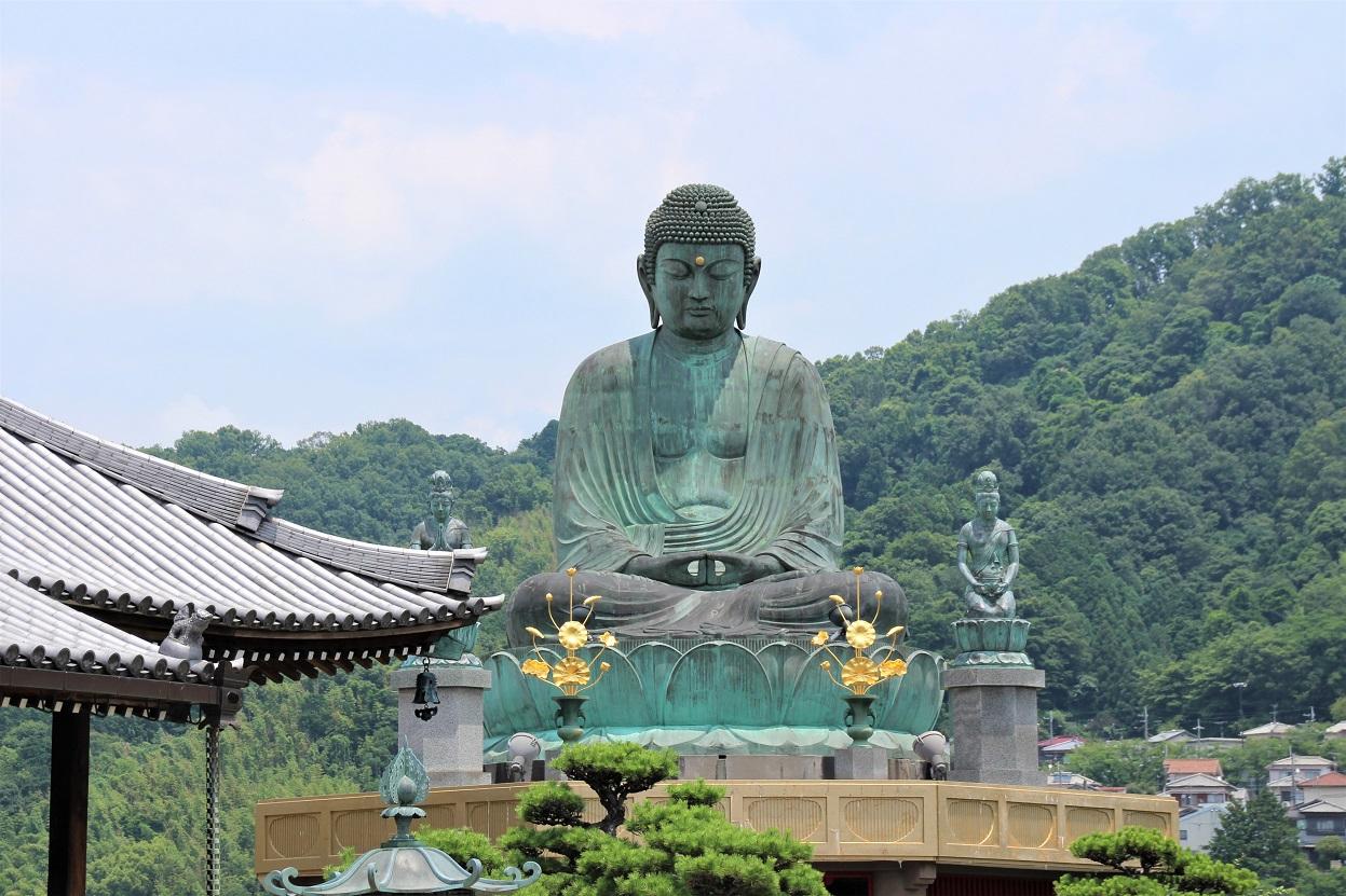 極楽寺(河内長野市) 河内の大仏さんで親しまれる病気平癒を願った聖徳太子創建のお寺【御朱印】